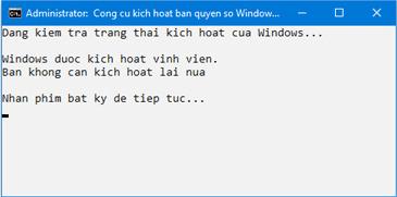 Cách Active Kích Hoạt Bản Quyền Windows 10 Kỹ Thuật Số Vĩnh Viễn Không Crack-giao diện tool