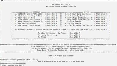 Công Cụ Kích Hoạt Bản Quyền Windows và Office An Toàn Không Crack