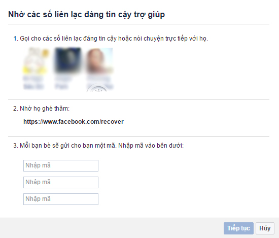 cách lấy lại mật khẩu facebook trong 5p