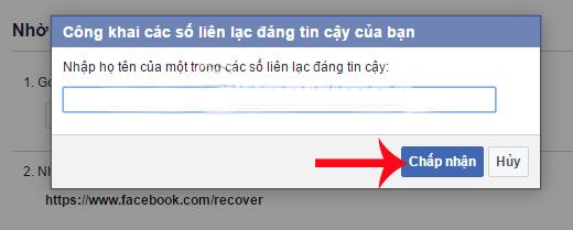 hướng dẫn lấy lại mật khẩu facebook
