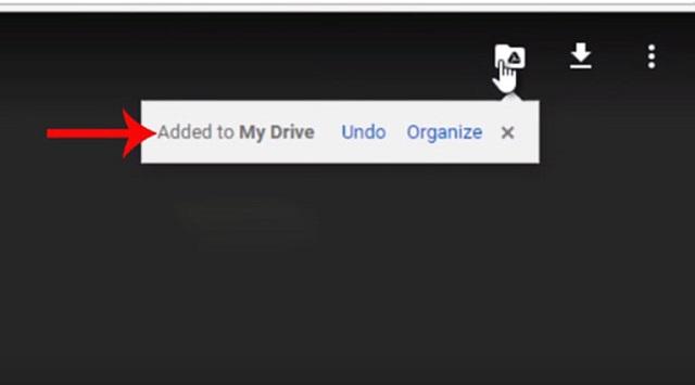 Tạo bản Copy để tải file từ Google Drive bị cấm bước 2